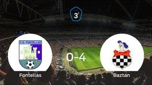 Sólido triunfo para el equipo elizondés: CD Fontellas 0-4 Baztan