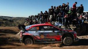 Sordo, en acción en el último Rally de Argentina