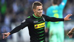 Thorgan Hazard, internacional con Bélgica
