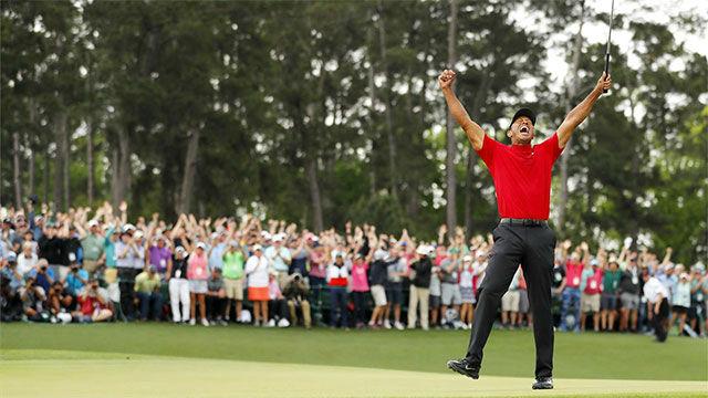 Tiger Woods conquista el Masters de Augusta 14 años después