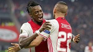 Traoré brilló en la ida marcándole dos goles al Lyon