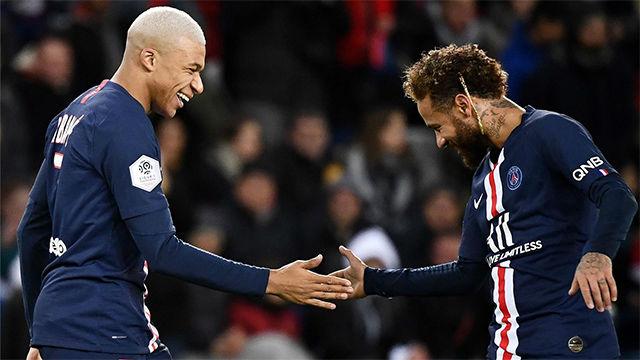 Tuchel: Neymar motiva a Mbappé, y Mbappé motiva a Neymar