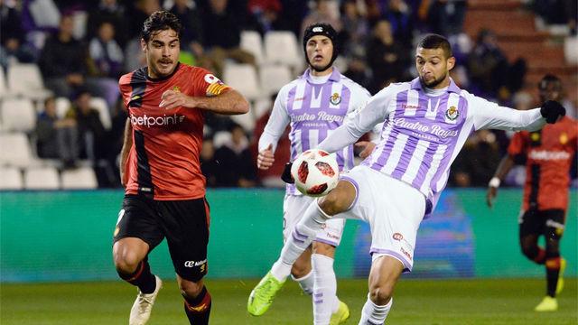 El Valladolid sufrió ante el Mallorca para pasar a octavos