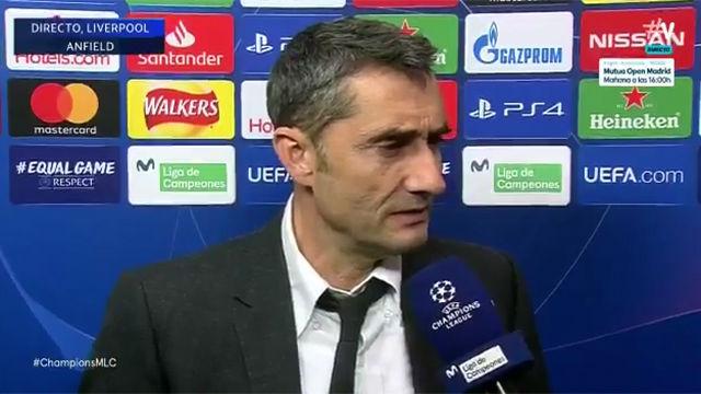 Valverde: Cuando te ganan 4-0 no tienes que poner excusas