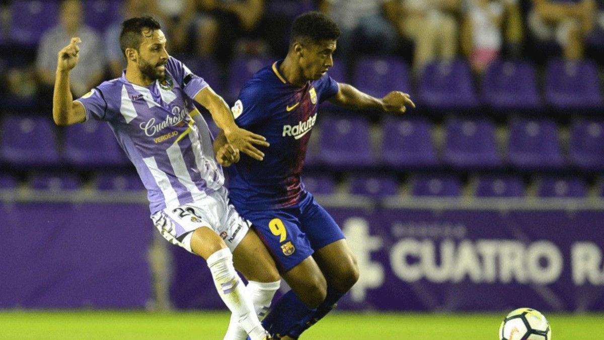 Vídeo resumen: Valladolid - Barça B (1-2). Jornada 1, Liga 1|2|3 17-18