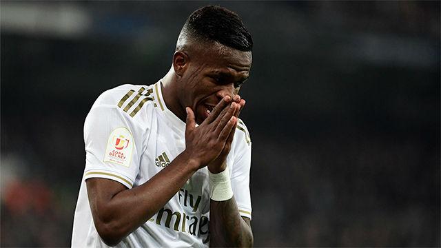 Vinicius: No he hablado con el árbitro