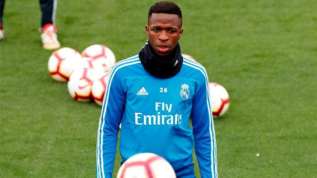 Vinicius vuelve a los entrenamientos