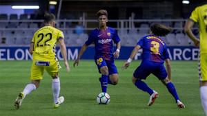 a9b71f12d Resumen y goles del Barcelona B - Lugo de LaLiga 1 2 3 (1-2)