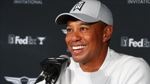 Woods, en la rueda de prensa previa al torneo