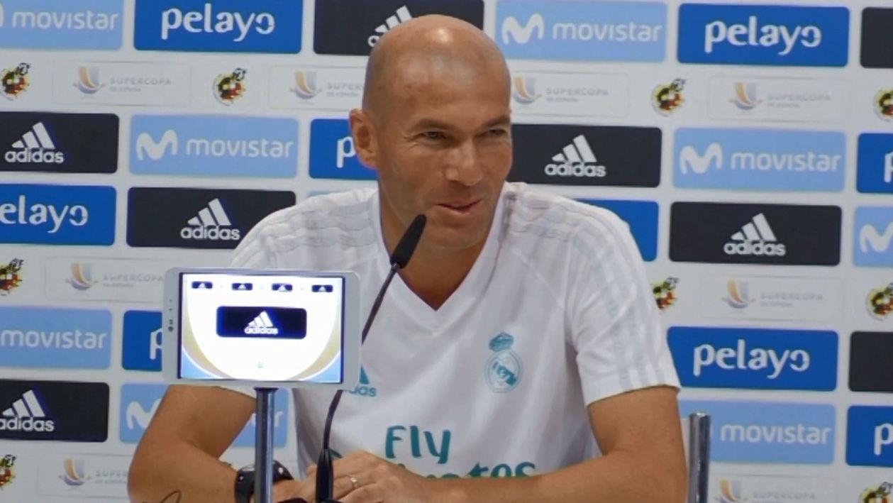 Zidane se ha mostrado feliz por su renovación