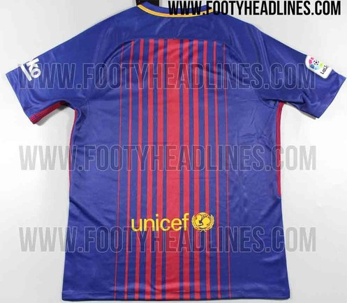 La versión definitiva de la camiseta del FC Barcelona 2017   2018 61cd7ab2eec58