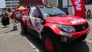 Imagen de uno de los vehículos participantes