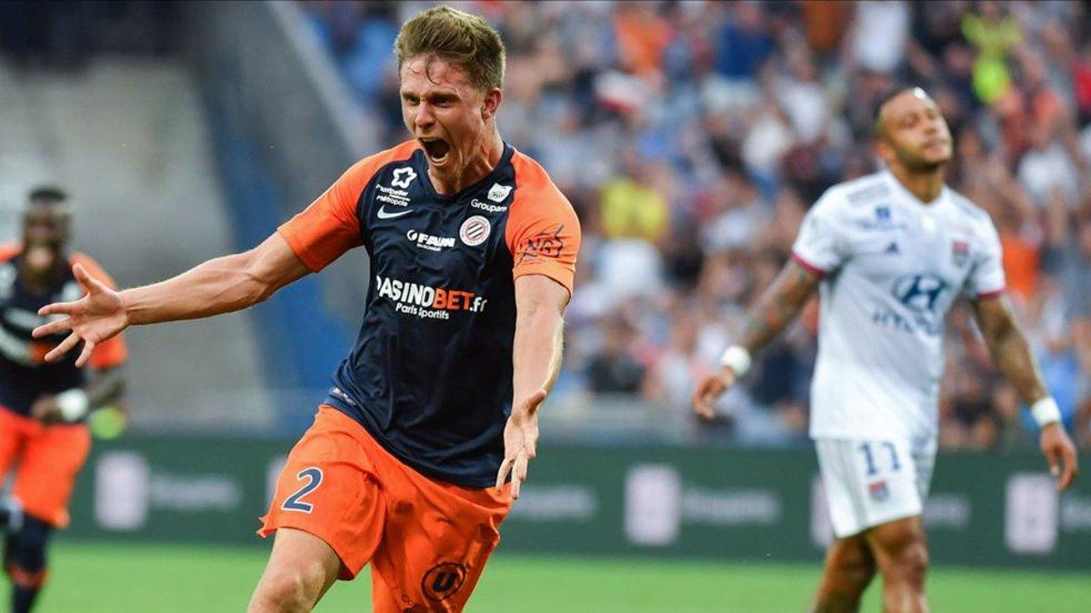 El Lyon se desinfla ante el Montpellier (1-0)