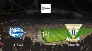 Alavés drop points against Leganés1-1 at Estadio de Mendizorroza