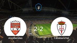 El Alcobendas Sport y el RCarabanchel se reparten los puntos tras su empate a dos