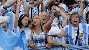 Argentina es conocida por ser una de las aficiones más apasionadas