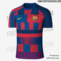 Así es la camiseta filtrada del FC Barcelona