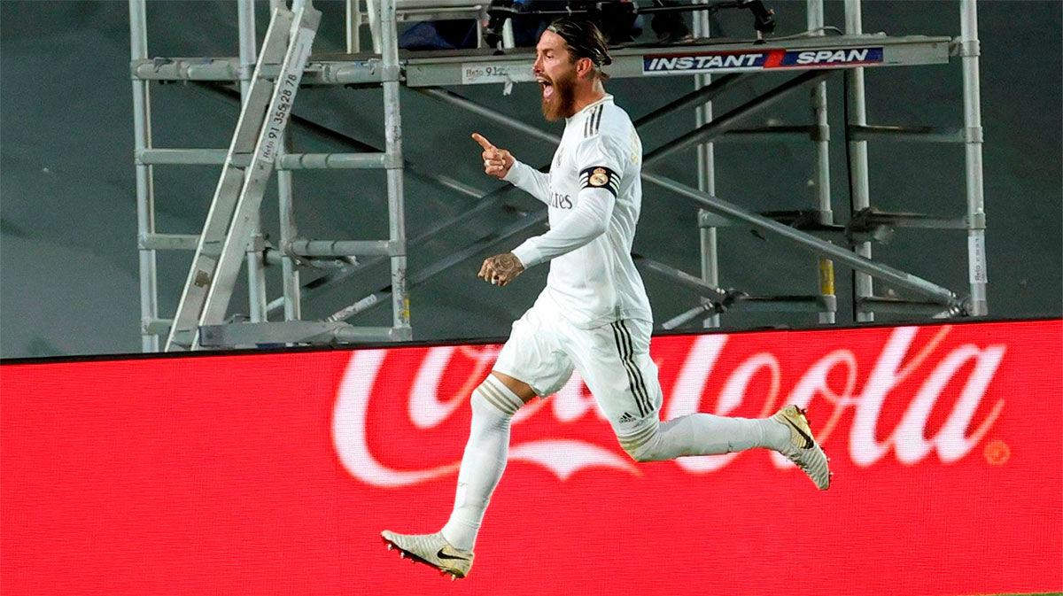 Así narró la radio el gol de Sergio Ramos ante el Getafe