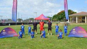 La Barça Academy, en Miami