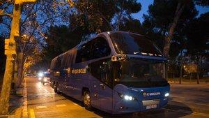 El Barça cogerá de nuevo el autobús para un desplazamiento largo