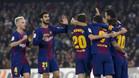 El Barça tumba al Betis y es todavía más líder