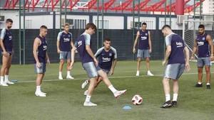 El Barcelona prepara la Supercopa de España