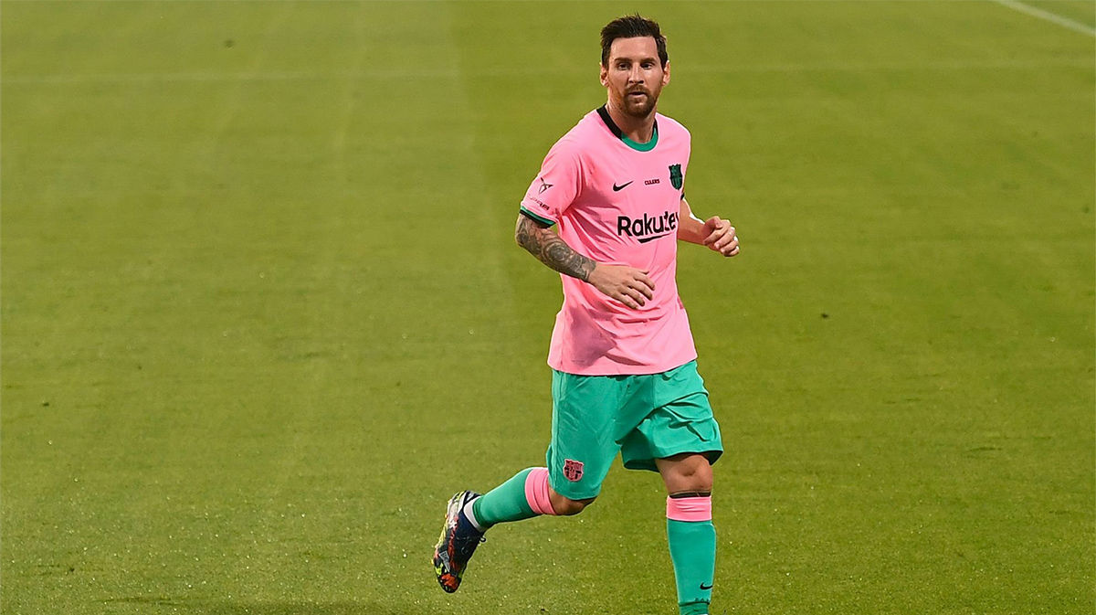A base de golazos: así fue el doblete de Messi al Girona