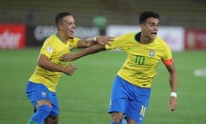 Brasil derrotó a Paraguay en la primera fecha del Sudamericano Sub 17