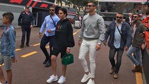 Cristiano Ronaldo y Georgina disfrutan del en Mónaco de la Fórmula 1