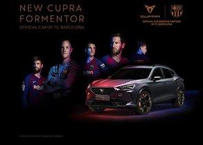 El CUPRA Formentor, coche oficial del FC Barcelona