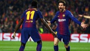 Dembélé siente admiración por Messi