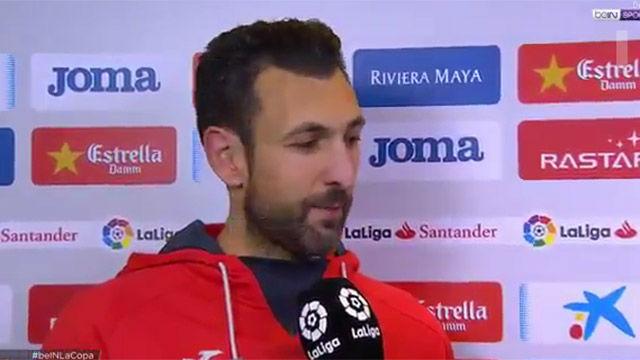 Diego López no se fía del Barça