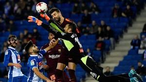 Diego López reconoció la dificultad de frenar al argentino