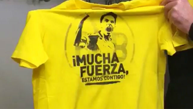 El Dortmund saldrá con camisetas de apoyo a Bartra