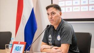 Eduardo Berizzo vivirá su primera experiencia oficial como DT de Paraguay