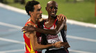 España, en una de sus míticas carreras con Mo Farah