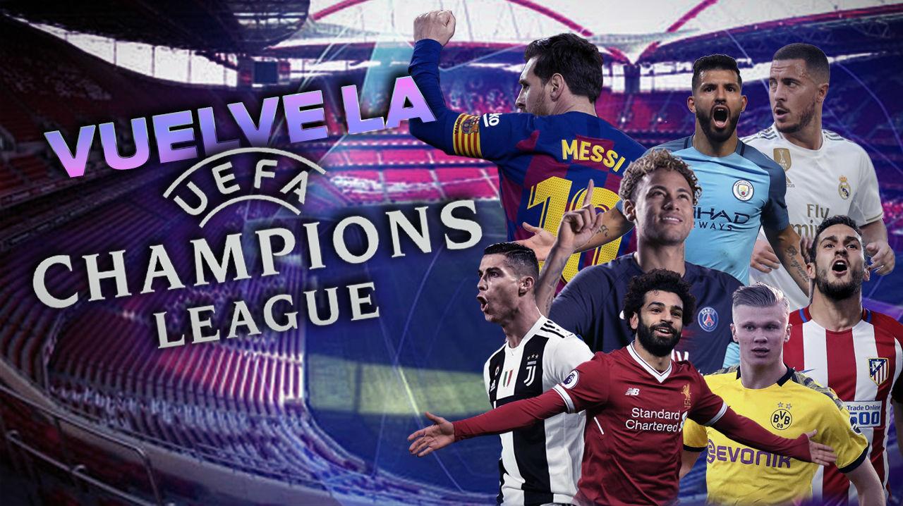 Ya está aquí: vuelve la Champions
