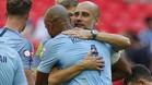 Guardiola y Kompany disputarán su tercera temporada juntos en el Manchester City