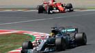 Hamilton se ha impuesto tras una gran batalla con Vettel