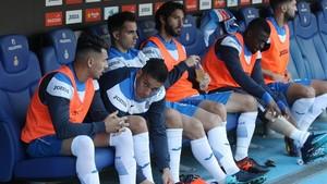Hernán Pérez y Pape Diop no son muy habituales en los planes del entrenador