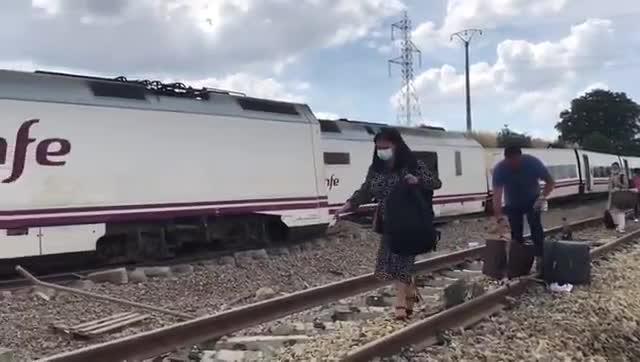 Un hombre de 89 años muere en un accidente de tren en Zamora