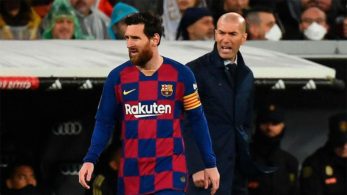 ¿Se imagina usted un Barça sin Messi? Atención a la respuesta de Zidane