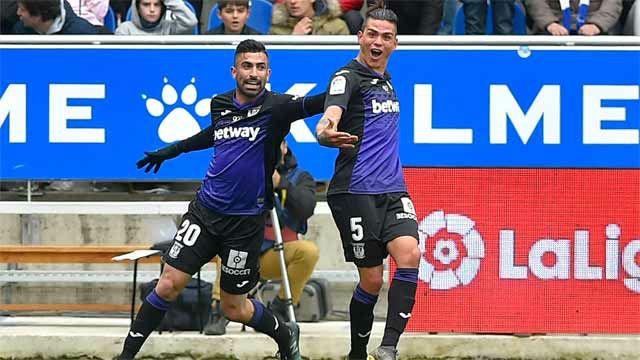 Jonathan Silva sorprendió al Alavés con un auténtico golazo