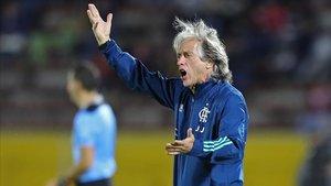 Jorge Jesus, técnico del Flamengo
