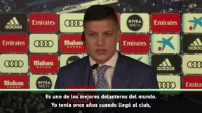 Jovic: Espero aprender de Benzema