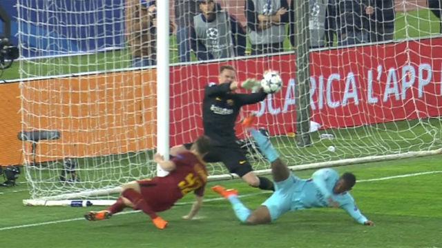 LACHAMPIONS | Roma - FC Barcelona (3-0): Ter Stegen evitó que el partido acabara en una goleada de escándalo