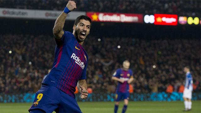 LACOPA | Barça-Espanyol (2-0) | Suárez abrió el marcador y encarriló la remontada