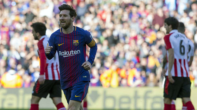 LALIGA | FC Barcelona - Athletic (2-0): El gol de Messi