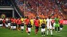 Las gradas, semivacías en los duelos de la Copa África.