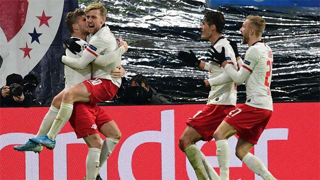 El Leipzig, primerísimo de grupo, da el golpe de gracia al Benfica